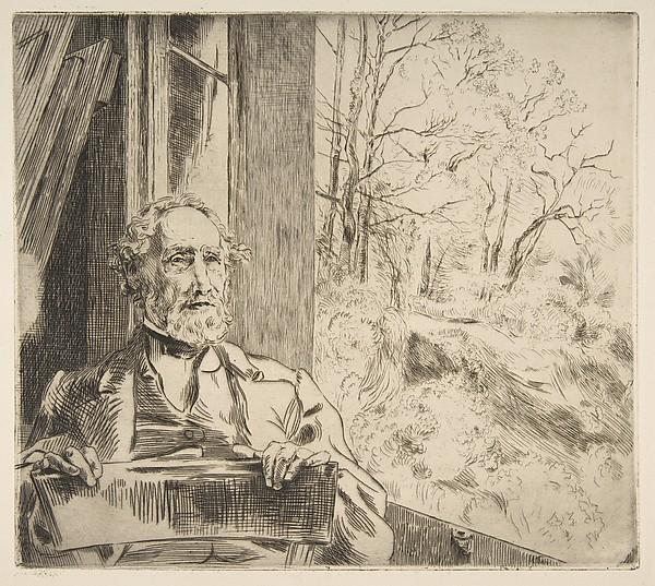Portrait of Meyer-Heine