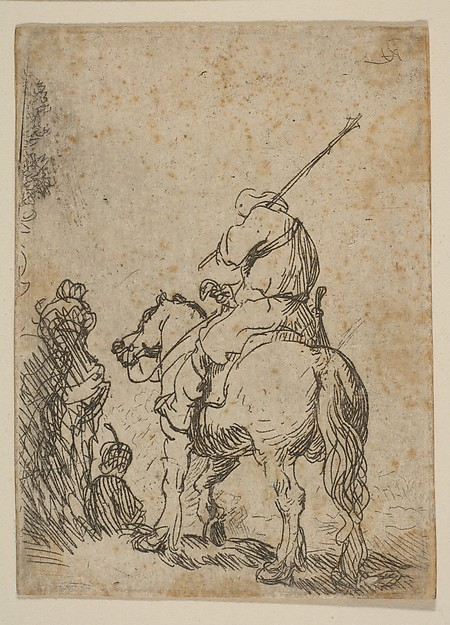 This is What Rembrandt and Turbaned Soldier on Horseback Looked Like  in 1629