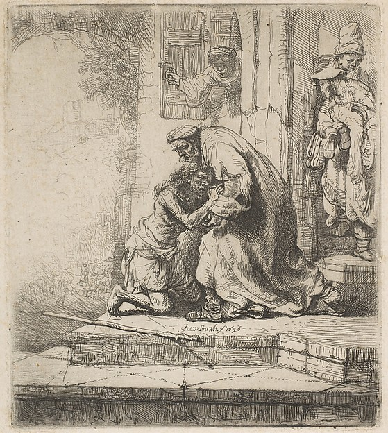 This is What Rembrandt and The Return of the Prodigal Son Looked Like  in 1636