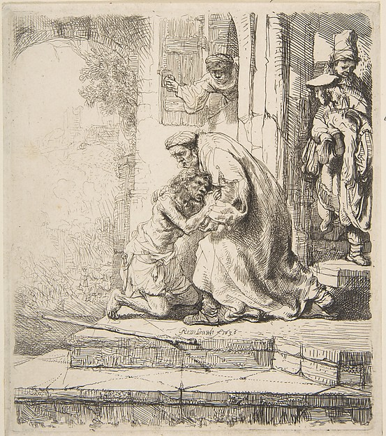 Fascinating Historical Picture of Rembrandt with Return of the Prodigal Son in 1620