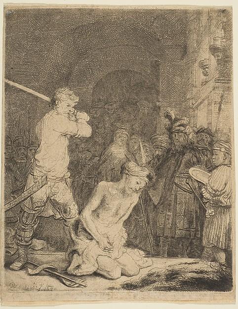 The Beheading of John the Baptist