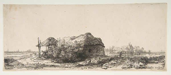 Landscape with a Cottage and a Haybarn