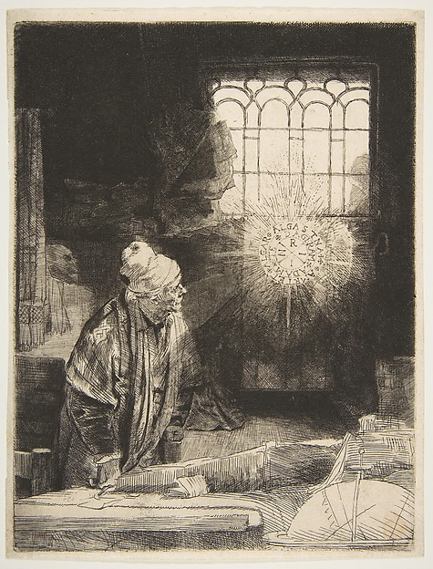 A Scholar in His Study ('Faust')