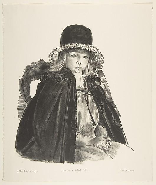 Jean in a Black Hat