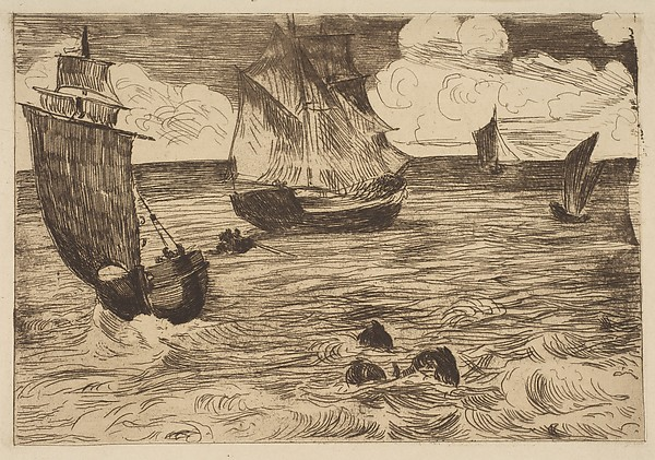 This is What douard Manet and Marine Looked Like  in 1865