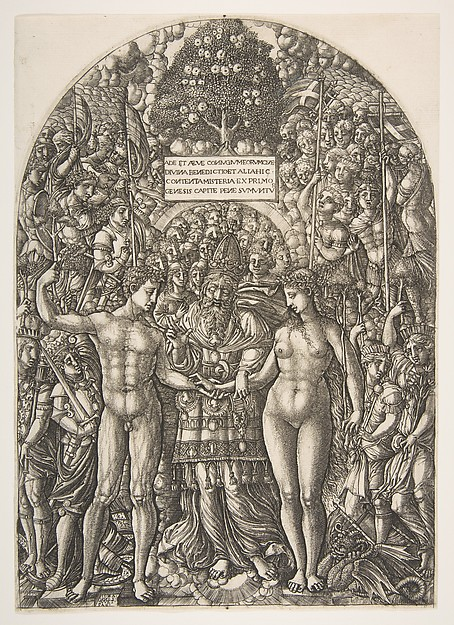 The Marriage of Adam and Eve, from The Apocalypse