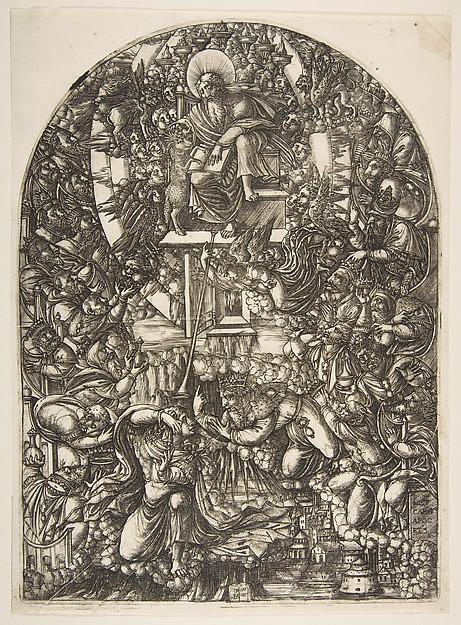 Saint John Summoned to Heaven, from the Apocalypse