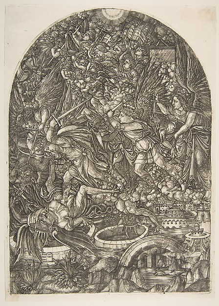 Saint Michael and the Dragon, from the Apocalypse