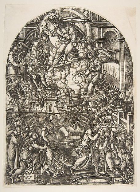 The Winepress of the Wrath of God, from the Apocalypse
