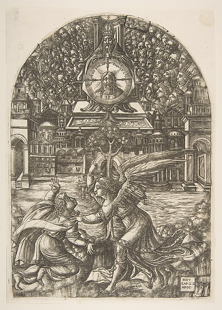 The Angel shows Saint John the Fountain of Living Water, from the Apocalypse