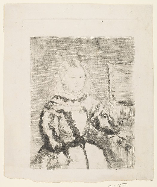 The Infanta Margarita, after Velázquez