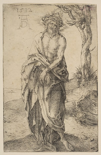 Man of Sorrows with Hands Bound