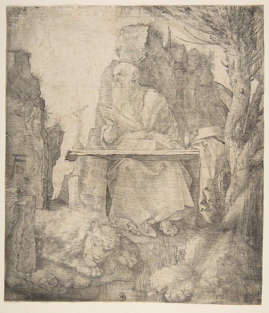 St. Jerome by a Pollard Willow
