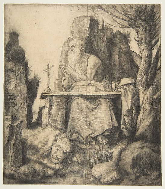 Saint Jerome by the Pollard Willow
