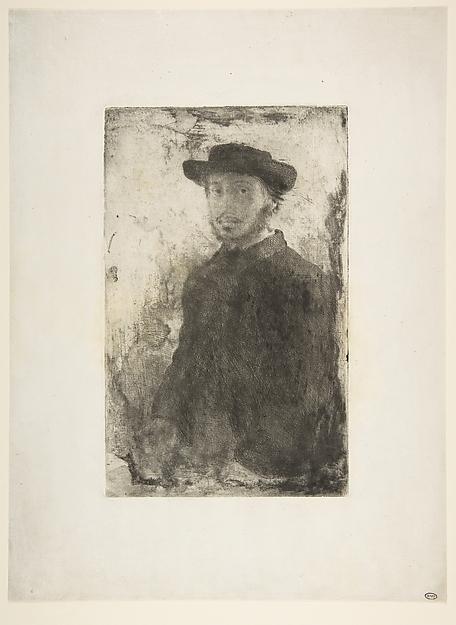 Edgar Degas: Self Portrait