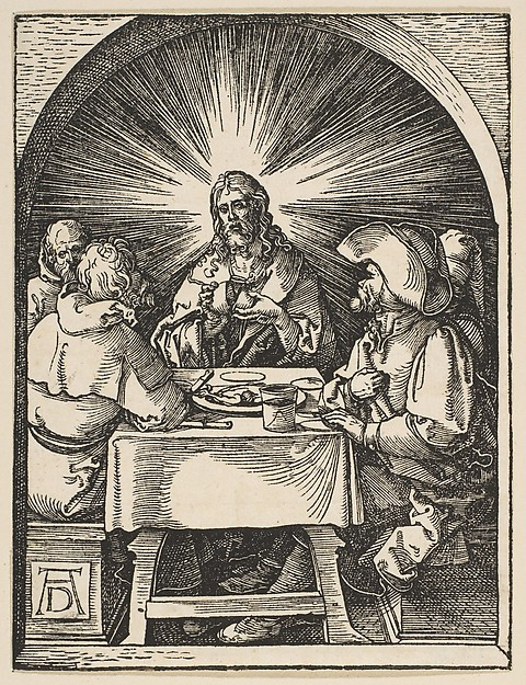Christ at Emmaus, from The Little Passion