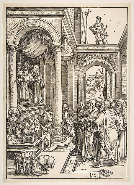 Presentation of the Virgin in the Temple, from The Life of the Virgin