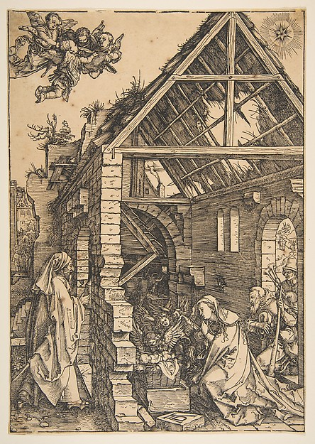 Fascinating Historical Picture of Albrecht Drer with The Nativity from The Life of the Virgin in 1502