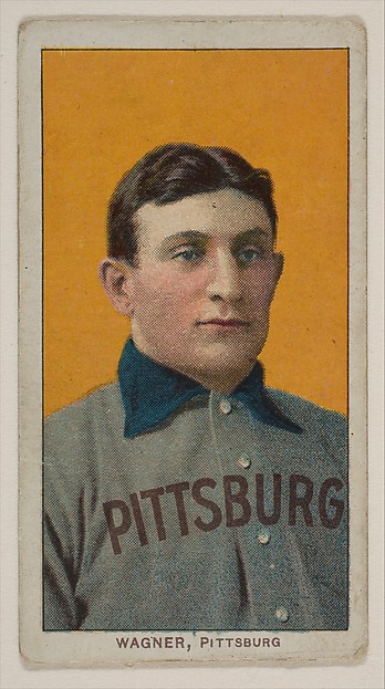 Honus Wagner, Pittsburgh, National League, from the White Border series (T206) for the American Tobacco Company