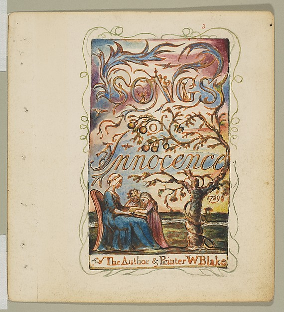 Songs of Innocence: Title Page