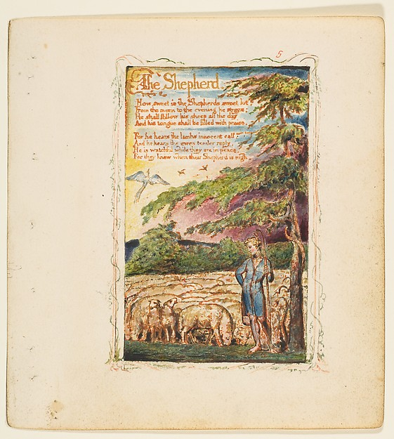 Songs of Innocence and of Experience: The Shepherd