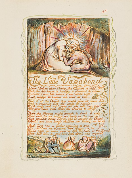 Songs of Innocence and of Experience: The Little Vagabond