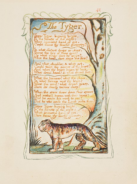 Songs of Innocence and of Experience: The Tyger