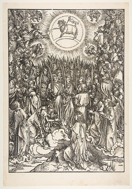 The Adoration of the Lamb, from The Apocalypse
