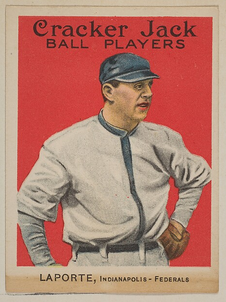 LaPorte, Indianapolis, Federal League, from the Ball Players series (E145) for Cracker Jack