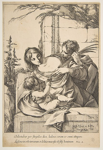 Holy Family with Palm