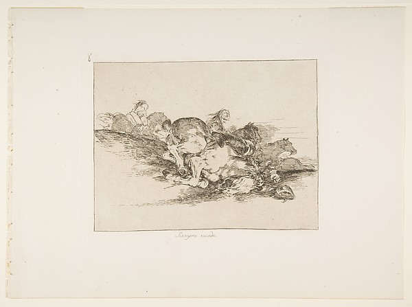 It always happens (Siempre sucede), from The Disasters of War (Los Desastres de la Guerra), plate 8