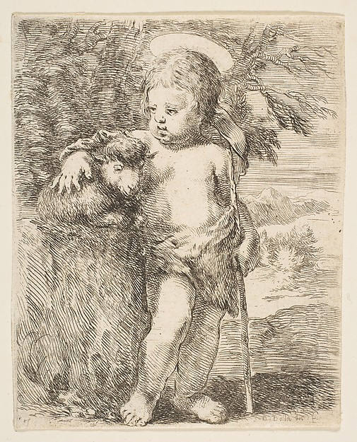 The Infant St. John the Baptist with his Lamb