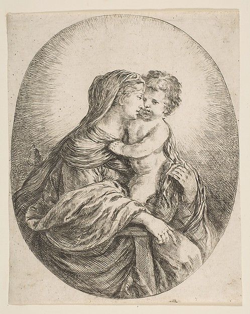 Virgin Embracing the Christ Child