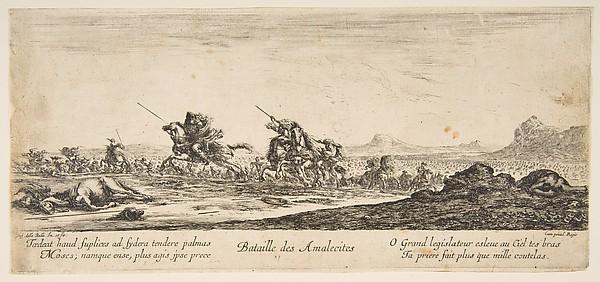 The Battle of the Amalekites