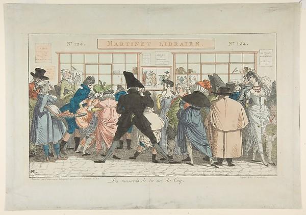 Les Musards de la Rue du Coq (Dawdlers of the Rue du Coq)