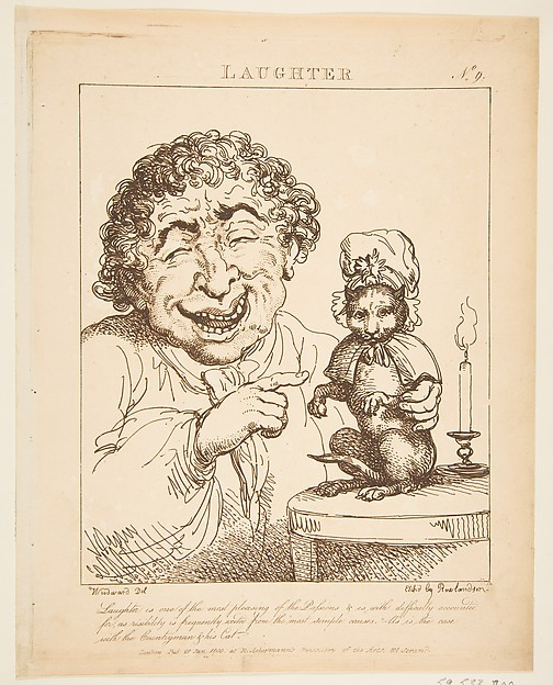 Laughter (Le Brun Travested, or Caricatures of the Passions)