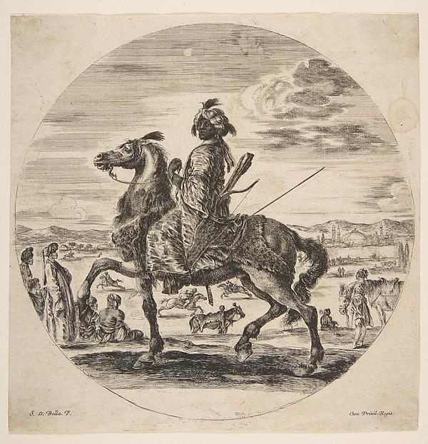 A Black Cavalier
