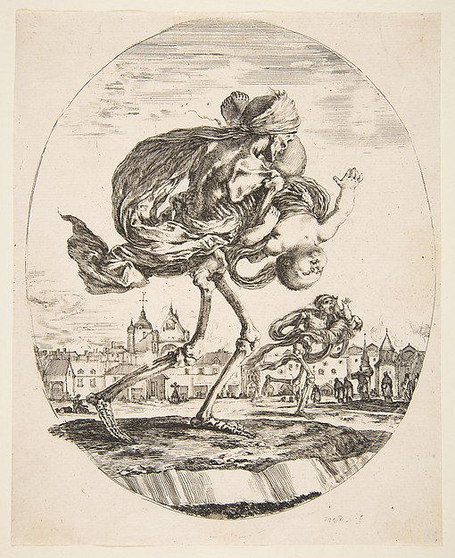 Death Carrying an Infant