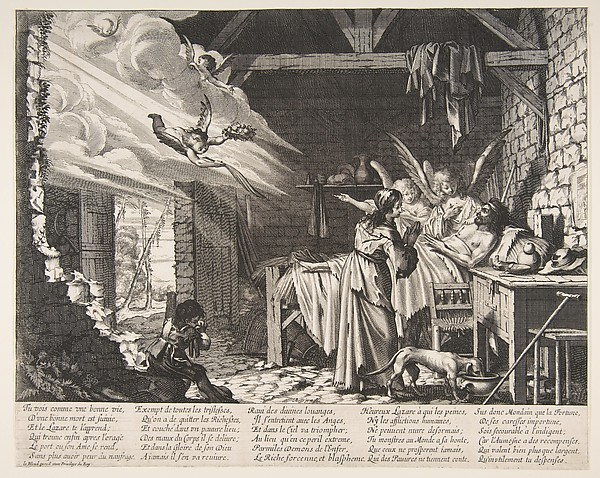 Fascinating Historical Picture of Abraham Bosse with The Death of Lazarus in 1620