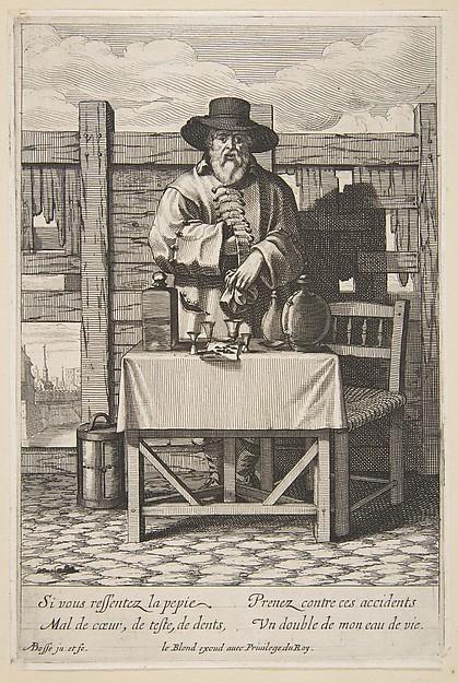 Brandy or Cure Seller (Marchand d'eau de vie)