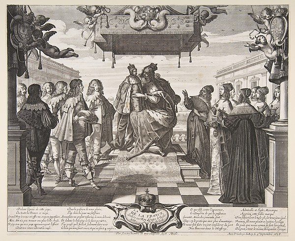Fascinating Historical Picture of Abraham Bosse with The Joy of France in 1638