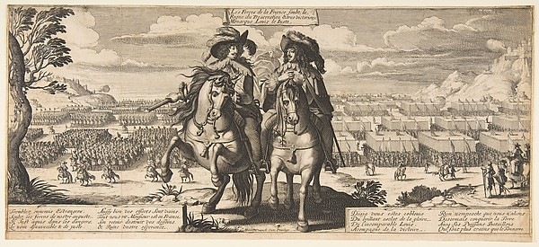 Fascinating Historical Picture of Abraham Bosse with The French Forces| Louis XIII and Gaston dOrlans in 1630