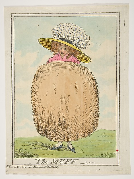 Fascinating Historical Picture of Henry Kingsbury with The Muff on 2/16/1787