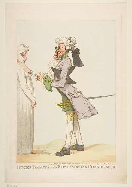 Buck's Beauties and Rowlandson's Connossieur