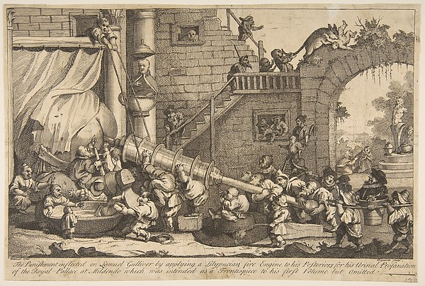 The Punishment Inflicted on Lemuel Gulliver
