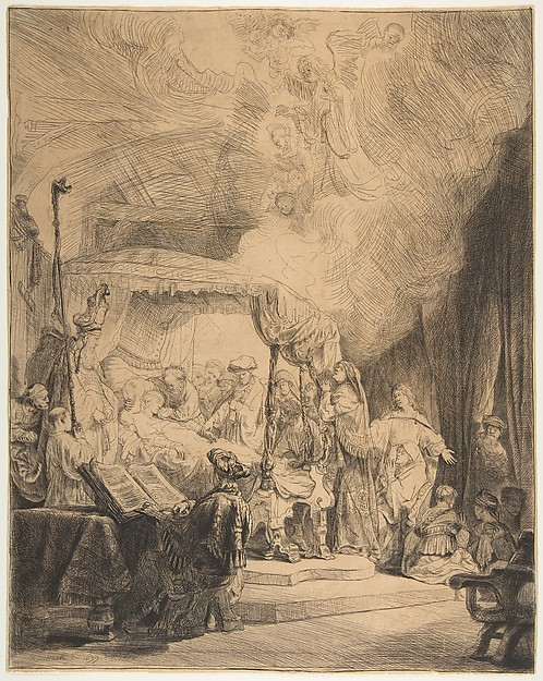 This is What Rembrandt and The Death of the Virgin Looked Like  in 1639