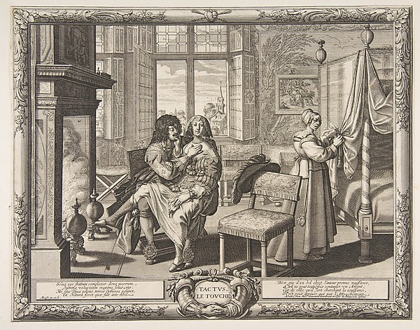 Fascinating Historical Picture of Abraham Bosse with Touch (Le Toucher) in 1638