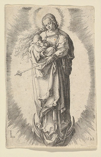 The Virgin with Child on the Crescent