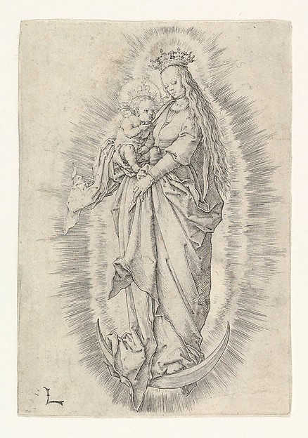 The Crowned Virgin With Child in Glory