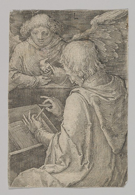 St. Matthew, from the series The Four Evangelists